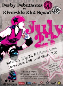 July 23 Ted Reeve Arena