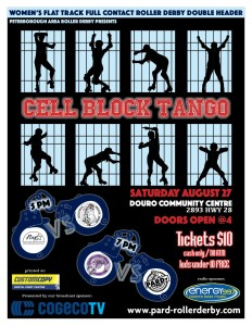 CellBlock Tango Aug 27 2016 Roller Derby