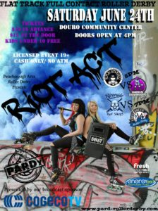Riot Act: Roller Derby Double Header